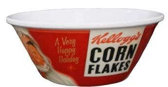 Holiday Corn Flakes® Cereal Bowl