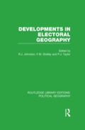 The essays in this collection show how electoral geography has shifted from empiricist activity towards a closer involvement with the wider issues addressed by social scientists