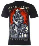 (PALLAS) Arch Enemy Melodic Death T-Shirt (NS081) (Black ,M)