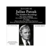 Julius Patzak - the Schubert recordings