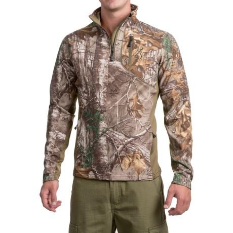 Browning Ajax Fleece Shirt - Zip Neck, Long Sleeve (for Men And Big Men)