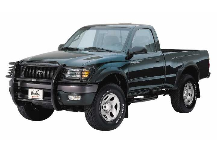 82-04 S-SERIES/SONOMA/98-03 HOMBRE EXT CAB 2DR/3DR SIGNATURE SERIES BLACK STEP BARS