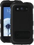 Ballistic Galaxy S Iii Hard Core Case - Black Hard Core Case W/ Holste