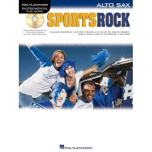Sports Rock - for Alto Sax - Book and CD Package