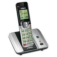 Vtech Cs6519 Dect 6.0 Cordless Phone - Cordless - 1 X Phone Line - Speakerphone - Caller Id - Backlight