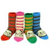 kilofly Stripes Cotton Socks Value Pack [Set of 4 Pairs], 12 - 36 months