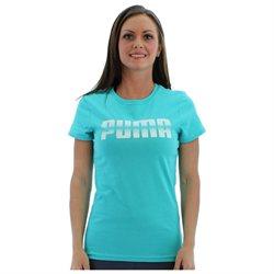Puma Basic Graphic Women's T-Shirt Tee