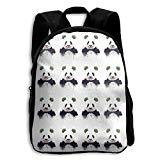 Clown Panda Kid Boys Girls Toddler Pre School Backpack Bags Lightweight