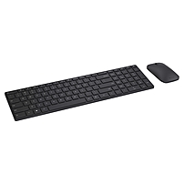 Microsoft Designer Bluetooth Desktop - Wireless Bluetooth Black - Wireless Bluetooth Laser/optical - 1000 Dpi - 3 Button - Scroll Wheel - Qwerty - Black - Mute, Volume Down, Volume Up, Play/pause, Next Page, Previous Page Hot Key(s) - Symmetrical - Aaa - 7n9-00001