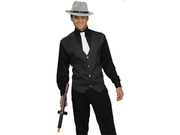 Forum Novelties 63107F 20s Gangster Shirt, Vest and Tie Adult