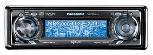 Remanufactured Panasonic CQ-CB8901U CD Receiver with HD Radio Tuner and MP3/WMA Playback