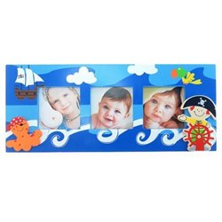 Puzzled 9572 Fun Frames - Three Pirate Frames 3 in. x 3 in.