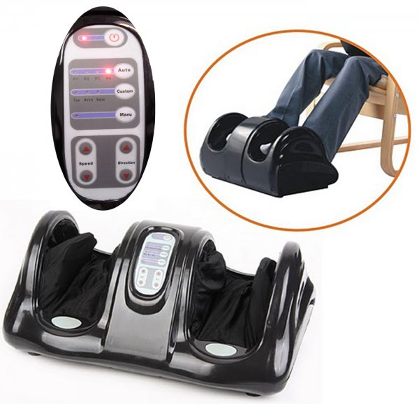 Hand-touch Kneading Rolling Shiatsu Foot Massager - By Qualimax - Kh385l