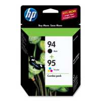 94/95 Combo Pack - C9354FN - print cartridge - black  color (cyan  magenta  yellow)