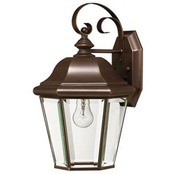 Hinkley Clifton Park Copper Bronze Outdoor Wall Sconce