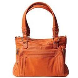 Epiphanie Ginger Shoulder Camera Bag, Burnt Orange
