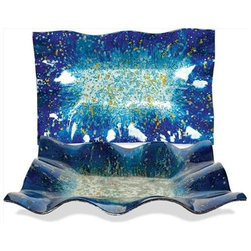 AngelStar 19044 Blue Ocean 16 in. Rectangle Plate