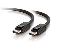 C2g 54001 6.6-feet Video/audio Cable - 1 X 20 Pin Displayport Male/male - Black