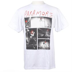 Paramore Hayley 5 Pic Slim-Fit T-Shirt