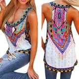 Mosunx Women 2016 New Summer Vest Top Sleeveless Blouse Casual Tank Tops T-Shirt (M, Multicolor)