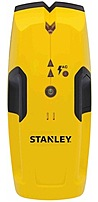 The Stanley STHT77403 Intelli Sensor Stud Finder 100 is a wood and metal stud finder that detects studs up to 2 inch below surface material with sequential LEDs and audible beeps