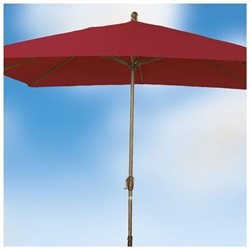 8.5' x 10.5' x 8' Rib Rectangular Premier Market Umbrella