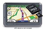 Argentina Chile Brazil Uruguay and Paraguay Maps for Garmin GPS (SD Memory Card / Garmin Compatible)