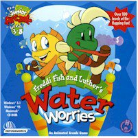 Platform: WINDOWS MACINTOSH Publisher: HUMONGOUS ENTERTAINMENT Packaging: JEWEL CASE Rating: AGES: 3-8 Dive in to help Freddi Fish and Luther keep the ocean from draining and save the sea creatures! Luther s got to pop an oceanful of air bubbles before they make it to the surface. A souped-up slingshot a little fancy finwork and some help from you are all he ll need! Sea sponges boulders and teleporting whirlpools are some of the useful tools you ll need to succeed. Stinging jellyfish spraying