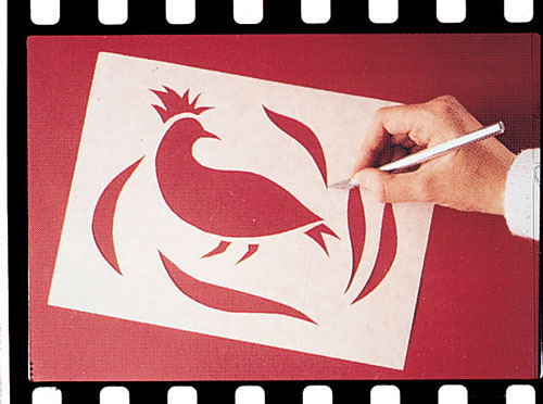 Wax-O Stencil Paper 12 x 18 (12 sheets)
