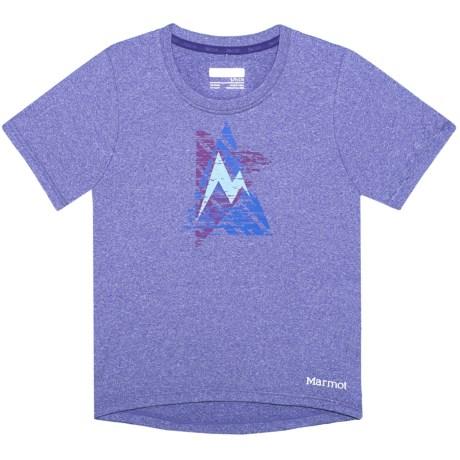 Post Time T-shirt - Upf 30, Short Sleeve (for Girls)