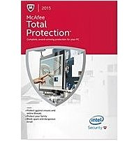 The McAfee Security MTP15EBF1RAA Total Protection 2015 offers 10 in 1 protection and complete online and PC security for your entire family