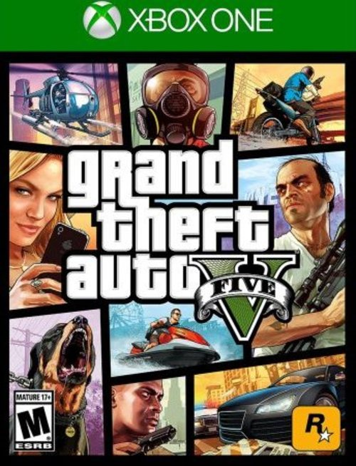 Rockstar Games 710425495243 Grand Theft Auto V Video Game For Xbox One