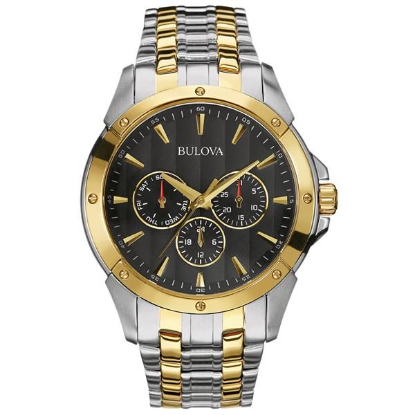 Bulova Sport Classic Two-tone Watch (for Men)