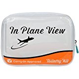 Carry On Clear In Plane View Quart Bag by Arad