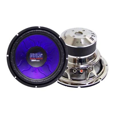 Pyle Pl1290bl 12'' 1200 Watt Dvc Subwoofer