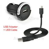 For LG Tone HBS-700 / Tone  HBS-730 / Tone Pro HBS-750 / Tone Pro HBS-760 / Tone Ultra HBS-800 Bluetooth Headset Compact Vehicle Power Car Charger Adapter   USB Data Charging Cable