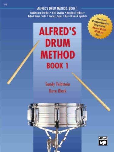 Alfred's Drum Method, Bk 1 (Book & DVD (Hard Case))