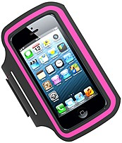 Tzumi 817243024126 2412 P/fm Active Armband For Apple Iphone 5 - Hot Pink