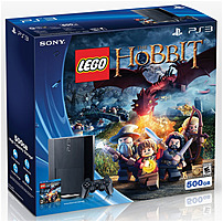 Sony Playstation 3 3000362 Lego The Hobbit Bundle  - 500 Gb Hard Drive - Wireless Controller - Wi-fi - Black