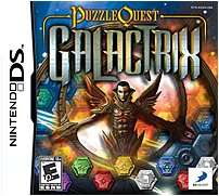 The D3 Publisher 879278320093 32009 Puzzle Quest Galactrix has three distinct gameplay modes and wireless DS multi card play available via Nintendo Wi Fi connection