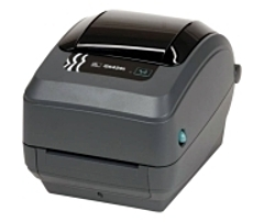 With the GK420t direct thermal thermal transfer printer, use Zebra's easy ribbon loading thermal transfer technology to produce crisp, long lasting label images, or direct thermal technology to print receipts and labels for indoor, short term use.