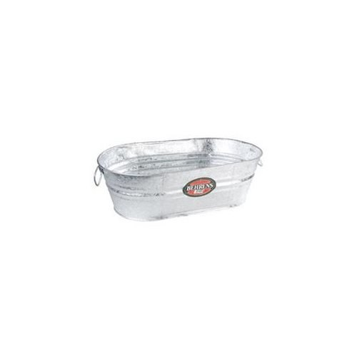 Behrens Tub 16.25 Gal Oval Galvanized
