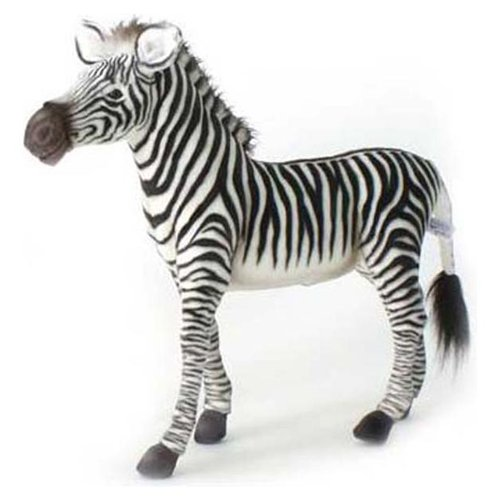Grevy'S Zebra Toy Reproduction by Hansa, 26'' long