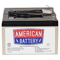 P ABC's UPS replacement battery assemblies are 20    70  less expensive than OEM Batteries