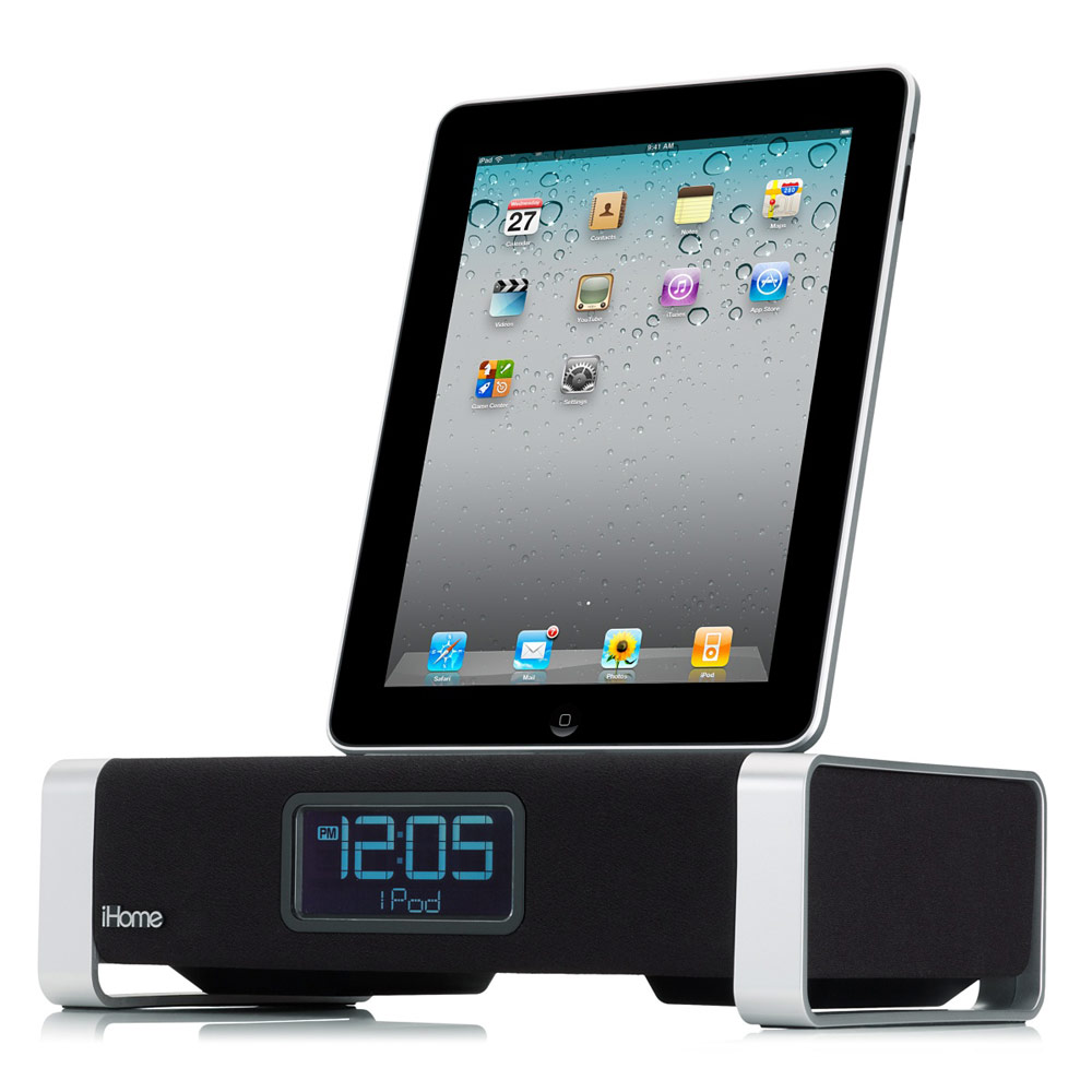 iHome iA100 Bluetooth Stereo System with App Enhancement and Bongiovi Acoustics for iPad, iPhone and iPod