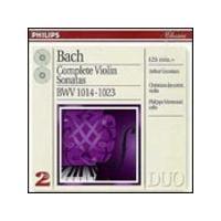 Grumiaux/Jaccottet/Mermoud - Bach/Complete Violin Sonatas (Music CD)