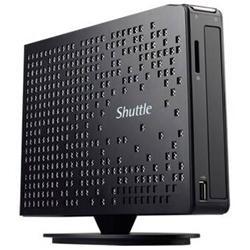 Shuttle XS35V3L Intel Atom D2550 1.86GHz Intel NM10 DDR3 A V GbE 40W Slim PC Barebone System