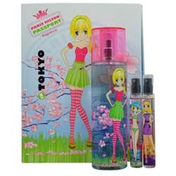 Passport Tokyo By Paris Hilton For Women - 3 Pc Gift Set 3.4oz Tokyo Edt Spray, 0.25oz Paris Edt Spray, 0.25oz South