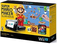 Nintendo Wupskagt Wii U Mario Maker Deluxe Gaming Console - Black