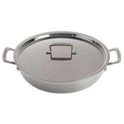 Le Creuset Tri-Ply Stainless Steel Braiser, 5 quart